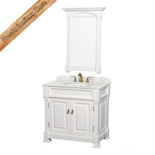 American Classical Transitional Single Sink Bathroom Vanity